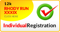 Rhody Run Individual Registration